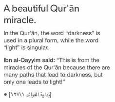 Only one path leads to light.