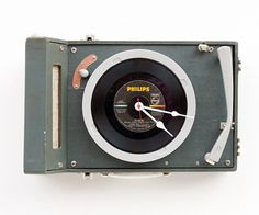 Upcycled record player