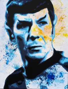 Spock You Don't Want a Boyfriend by PrehistoricRobot on DeviantArt Wanting A Boyfriend, Leonard Nimoy, Spock, Deviantart, Canvas, Painting, Fictional Characters, Music, Tela