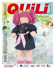 Muñecas de Trapo No. 15  Revista de manualidades Hugo Quili. Muñecas de Trapo. www.hugoquili.com