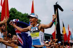 Rinny . 2014 World Ironman  Women's Champion . Living legend
