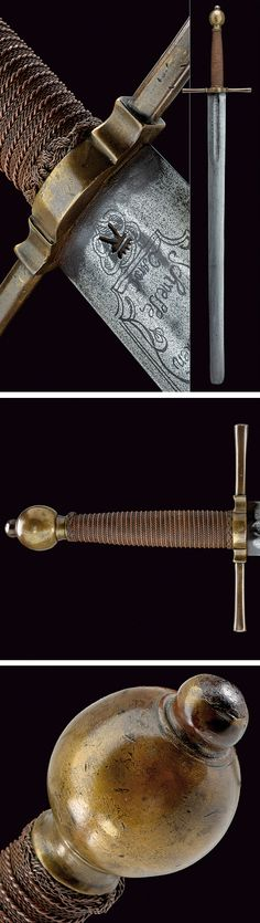 An execution sword.    provenance: Germany dating: 18th Century.