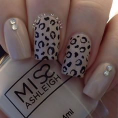 Jewsie Nails - Leopard mani