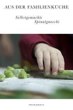 Aus der Familienküche: Das Rezept zu diesen Spinat-Gnocchi mit Minz-Pesto gibt es jetzt auf dem Blog. Baby Led Weaning, Gnocchi, Pesto, Panama, Blog, Fast Recipes, Good Food, Spinach, Homemade