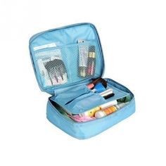 2016 Nylon Zipper Women Makeup bag Cosmetic bag Case Make Up Organizer Toiletry bag kits Storage Travel Wash pouch chisme viajes