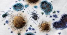 Adam Pritchett: Stitch insects