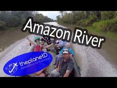 New Travel Video: An Amazon River Cruise Experience  | The Planet D Adventure… Cruise Travel, New Travel, Amazon River, Travel Videos, South America Travel, Atlantic Ocean, Beautiful Places To Visit, Natural Wonders, Vacation Destinations