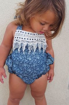 50% OFF + FREE USA SHIPPING. Classic print to compliment her beautiful look. Lovely Bubble romper with matching headband.  Perfect adjustable halter style Elastic legs + waist, allows for growth. Comfortable cotton, great to play in or dress up. Lenny Lemons, get it now!
