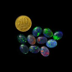 Opal Triplets 9x7 mm