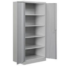 4 Shelf Metal Storage Cabinet