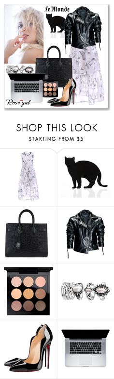"""Untitled #291"" by lionfishka ❤ liked on Polyvore featuring 157+173 designers, Yves Saint Laurent, Leka, MAC Cosmetics and Christian Louboutin"