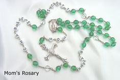 A perfect gift for any Mom, who certainly loves seeing the names of her children as she prays!