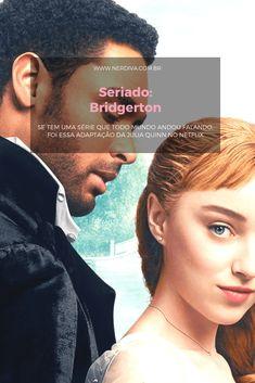 """Se você esteve nas redes sociais nas últimas semanas deve ter acompanhando um tema recorrente: """"Bridgerton"""", série que estreou no Netflix e é uma adaptação de uma coleção de livros da Julia Quinn. Querem saber o que achei? Netflix, Julia, Movies, Movie Posters, Social Networks, Home, Films, Film Poster, Cinema"""