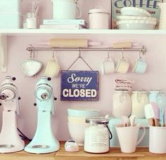My dream baking station! LOve it #Mydreamkitchen @Kitchendoorw