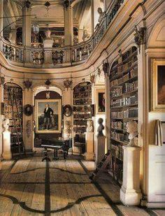 66 Ideas Home Library Room Victorian Reading Nooks Library Room, Dream Library, Future Library, Grand Library, Main Library, Photo Library, Victorian Library, Victorian Homes, Victorian Bookcases
