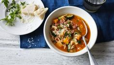 BBC - Food - Recipes : Healthy minestrone soup