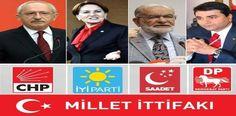 Chp ve Dörtlü ittifak Yeni yazımda CHP-İyi Parti-SP-Demokrat Partiden oluşan ittifaktan elimden geldiğince bahsedeceğim.