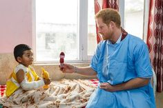 Prince Harry Brings a Smile to Little Kids' Faces in Nepal