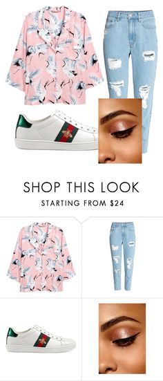 """""""Untitled #95"""" by halissiaelviracra on Polyvore featuring H&M and Gucci"""