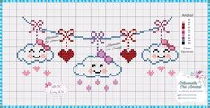 quilting like crazy Cross Stitch Heart, Cute Cross Stitch, Cross Stitch Alphabet, Cross Stitch Embroidery, Unicorn Cross Stitch Pattern, Cross Stitch Patterns, Crochet Chart, Crochet Patterns, Pixel Art Templates