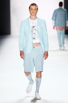 Emre Erdemoğlupresented hisSpring/Summer 2016 collectionduringMercedes-Benz Fashion Week Berlin.