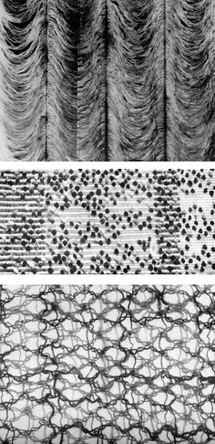 """On Weaving, Anni Albers Ch 8 : Tactile Sensibility """"... We touch things to assure ourselves of reality. We touch the objects of our love. We touch the things we form. Our tactile experiences are elemental. If we reduce their range … we grow lopsided …"""""""