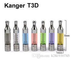Kanger T3D Atomizer Dual Coil Glass Atomizer Replacement Vaporizer 2.2mL for Ecig T3D Starter Kit VS T3S Clearomizer EVOD EGo Battery Online with $1.58/Piece on K281930785's Store | DHgate.com