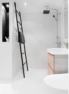 bathroom. - zon ladder is toch best handig (kun je makkelijk zelf maken)