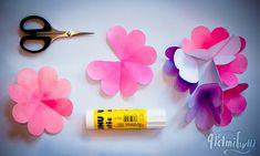 Helmihytti: DIY - Kukkakimppukortti äitienpäiväksi Malli