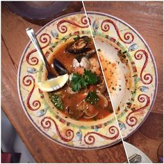 Seafood cioppino (The Pink Door - Seattle, WA)