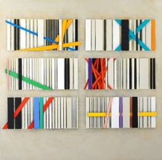 "Saatchi Art Artist Luciano de Liberato; Painting, ""White code , page 1"" #art"