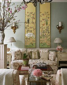 ... chinoiserie by Charlotte Moss ...