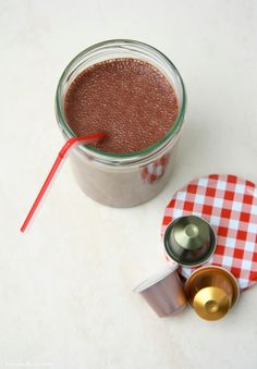 Der Beitrag von Leckermone steht zwar leider nicht zur Wahl, schmeckt aber bestimmt extremst lecker!! Nespresso, Kakao, Measuring Cups, Measuring Cup, Measuring Spoons