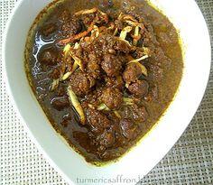 Turmeric and Saffron: Fesenjoon - Pomegranate Walnut Stew with Tiny Meatballs