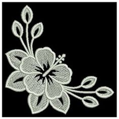 Irresistible Embroidery Patterns, Designs and Ideas. Awe Inspiring Irresistible Embroidery Patterns, Designs and Ideas. White Embroidery, Custom Embroidery, Embroidery Art, Embroidery Stitches, Embroidery Patterns, Embroidery Suits Design, Paper Flower Patterns, Rangoli Border Designs, Creative Embroidery