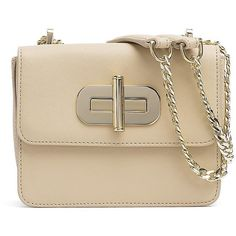 Tommy Hilfiger Turnlock Saffiano Mini Crossover ($100) ❤ liked on Polyvore featuring bags, handbags, shoulder bags, brown crossbody purse, mini cross body purse, crossbody shoulder bags, mini purse and tommy hilfiger handbags