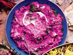 Find the recipe for Beet Yogurt with Herbs and other mint recipes at Epicurious.com