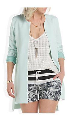 Long Blazer Lichtblauw - Costes Fashion