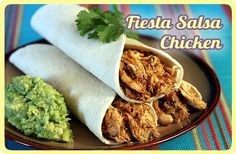 Fiesta Salsa Shredded Chicken -- filler for tacos, burritos, salads, more