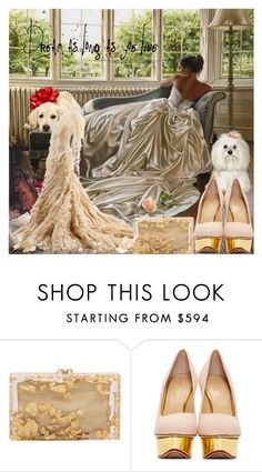"""Dream As Long As ""Yoe"" Live"" by lucky-ruby ❤ liked on Polyvore featuring Alexander McQueen, Charlotte Olympia and neutrals"