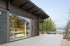 Modern sauna by Scandinavian Saunas, Scandinavian Architecture, Architecture Design, Design Sauna, Outdoor Sauna, Finnish Sauna, Weekend House, Cabins And Cottages, Outdoor Rooms