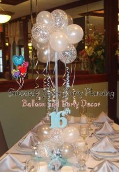 1000 images about kayla baby shower on pinterest for Balloon decoration ideas for sweet 16