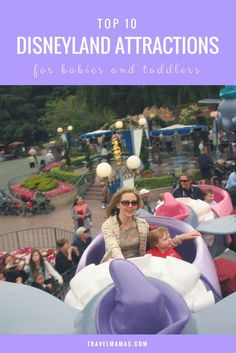 Top Disneyland Attractions for Babies & Toddlers