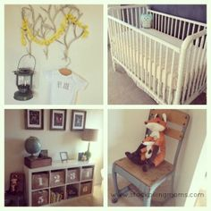 Whimsical and vintage ideas for a baby boy nursery!