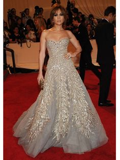 Jennifer Lopez Costume Institute Gala 2010