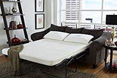 CoutureSleep Gel Memory Foam Replacement Sofa Sleeper Mattress-Full (Mattress Only)