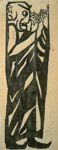 Munakata Shiko: Mokenren from Great Disciples of Buddha - Legion of Honor
