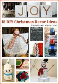 15 DIY Christmas Decor Ideas