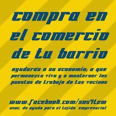 #compraenelcomerciodetubarrio #crisis #activación #barrio