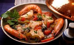 Moqueca, ensopado e pratos típicos, em Mangue Seco